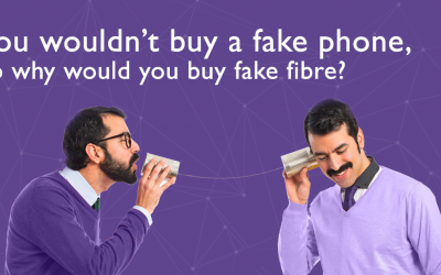 You wouldn't buy a fake phone, so why would you buy fake fibre?